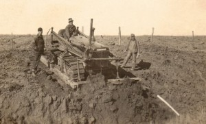 Unidentified CCC Men At Work