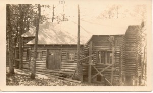 The Country Home under construction 1936